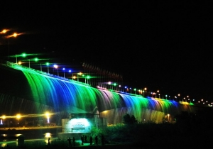 Rainbow in the Bridge
