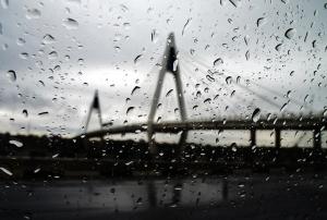 Bridge in the Raining